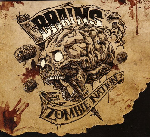 The Brains - Zombie Nation CD