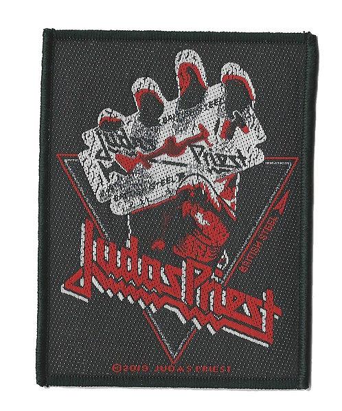 Judas Priest - British Steel Vintage Woven Patch