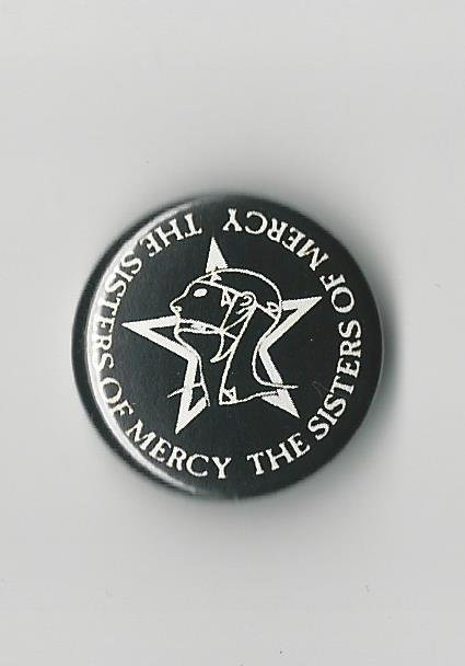 The Sisters of Mercy - Logo Pin