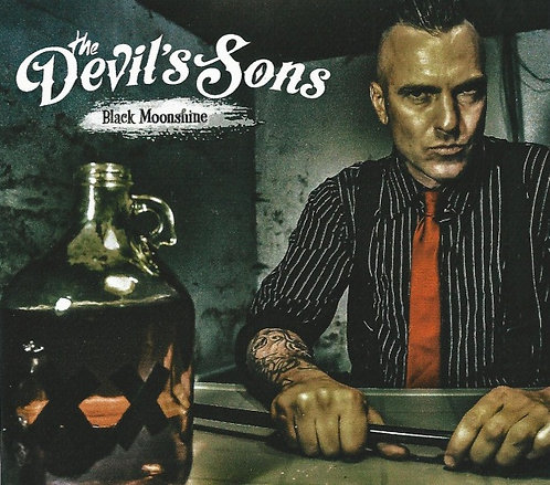 The Devil's Sons - Black Moonshine Cover Sticker