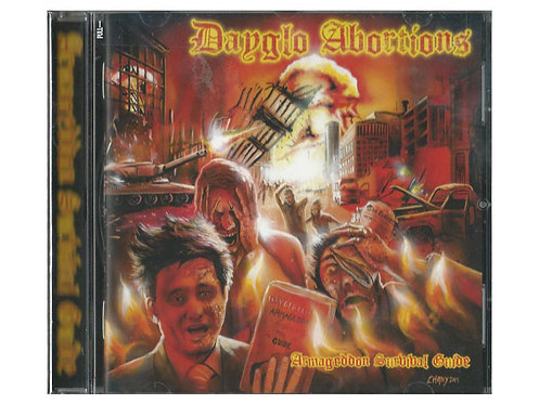 Dayglo Abortions - Armageddon Survival Guide CD