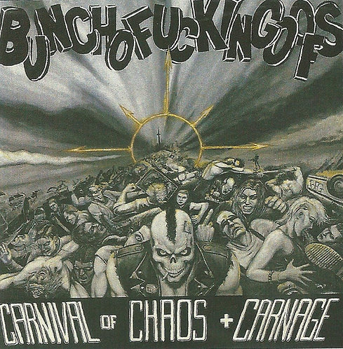 Bunchofuckingoofs - Carnival of Chaos + Carnage Sticker