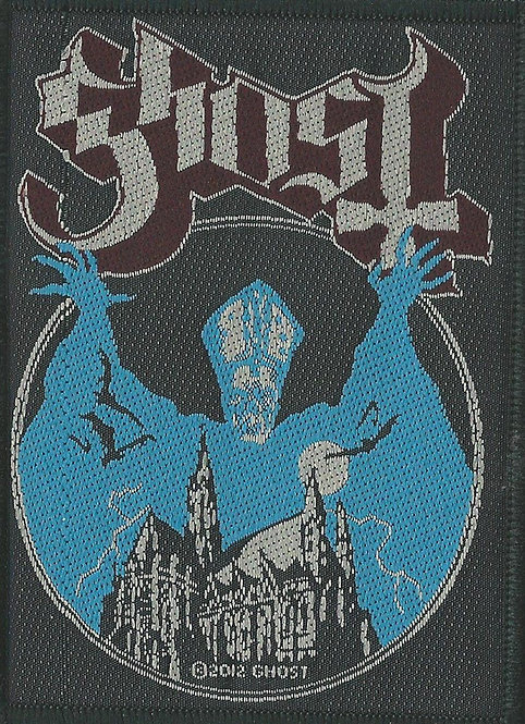Ghost - Opus Woven Patch