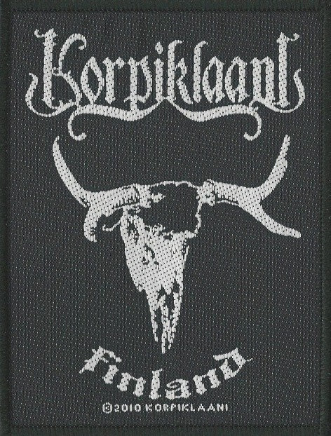 Korpiklaani - Finland Woven Patch