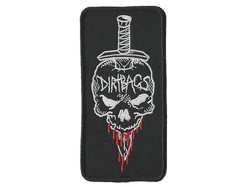 The Dirtbags - Dagger Embroidered Patch