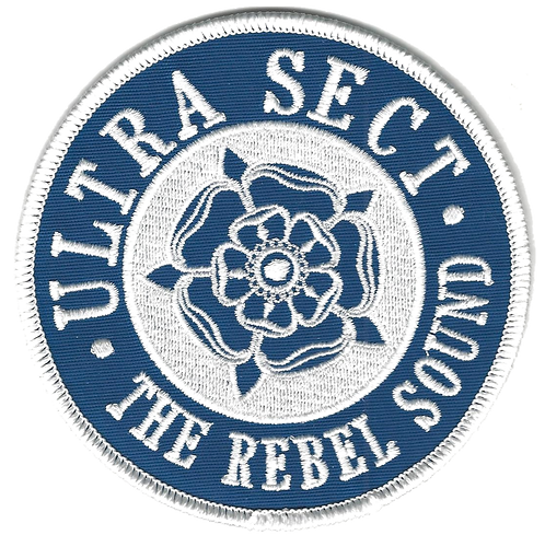 Ultra Sect - Tudor Rose Embroidered Patch