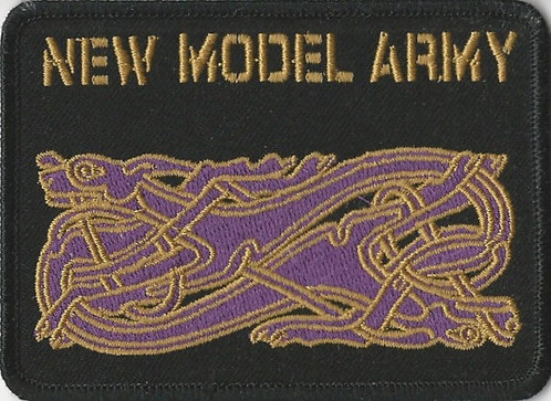New Model Army - Celtic Dog Embroidered Patch