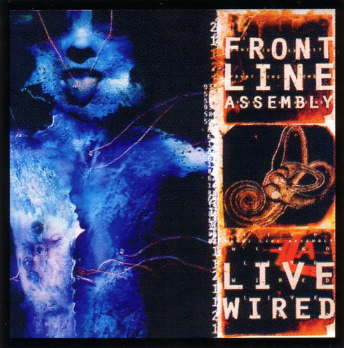 Front Line Assembly - Live Wired Sticker