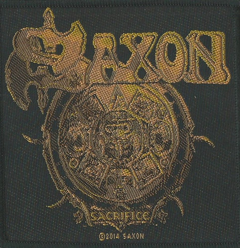 Saxon - Sacrifice Woven Patch