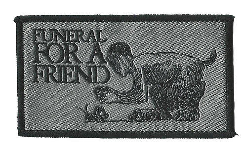 Funeral For A Friend - Woven Patch