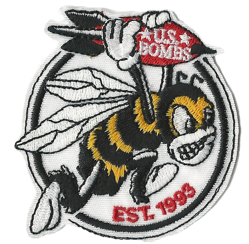 U.S. Bombs - Bee Bomber Embroidered Patch