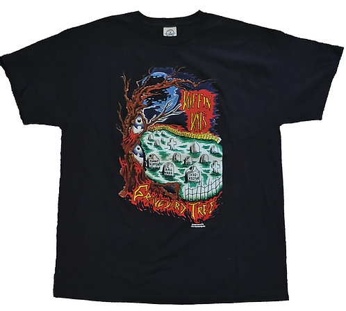 Koffin Kats - Graveyard Tree T-Shirt