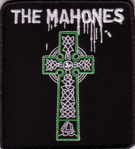 The Mahones - Cross Embroidered Patch