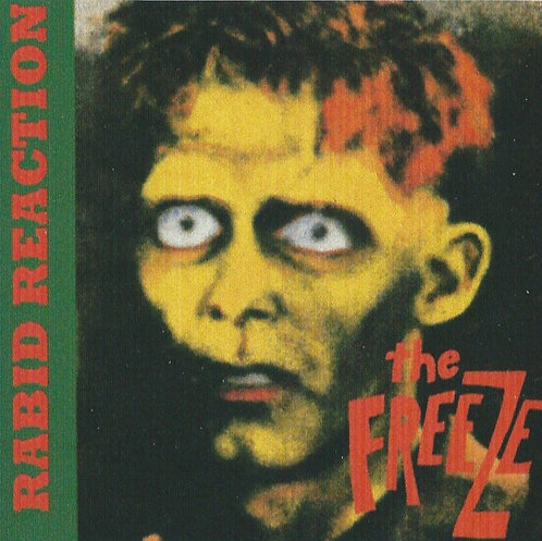 The Freeze - Rabid Reaction Sticker