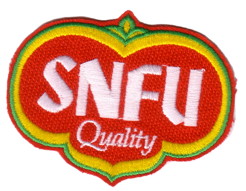 SNFU - Quality Embroidered Patch
