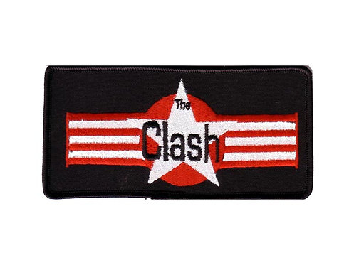 The Clash - Airforce Star Embroidered Patch