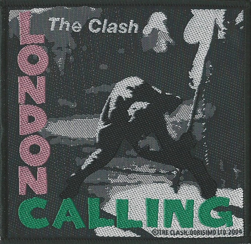 The Clash - London Calling Woven Patch