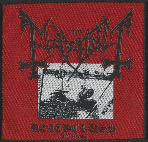 Mayhem - Deathcrush Woven Patch