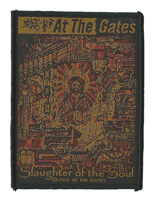 At the Gates - Slaughter of the Soul Woven Patch