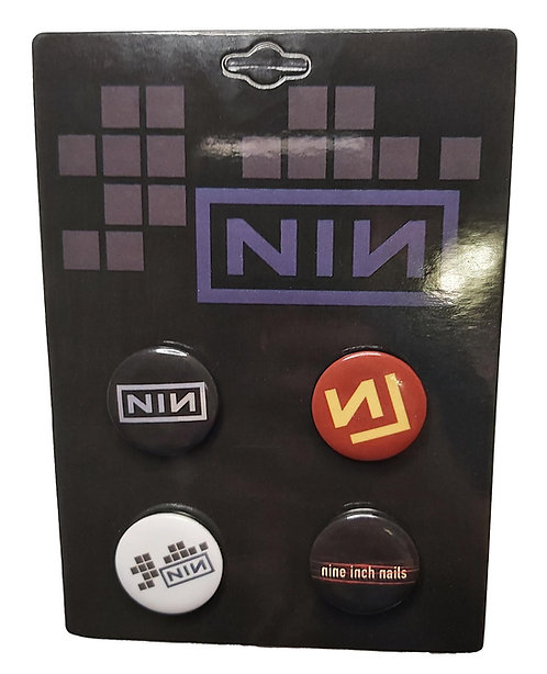 Nine Inch Nails - Pin Pack