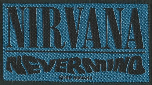 Nirvana - Nevermind Woven Patch