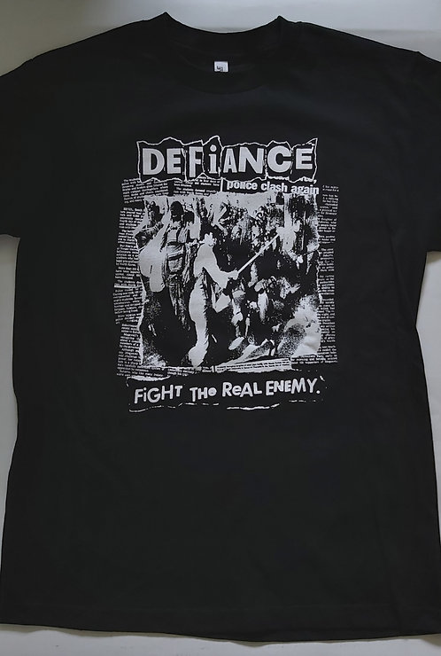 Defiance - Fight The Real Enemy T-Shirt