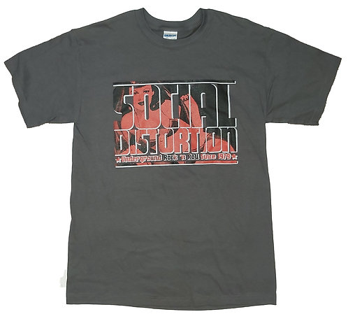 Social Distortion - Underground Rock 'n Roll T-Shirt