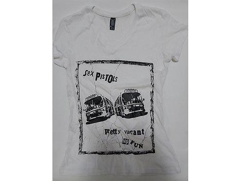 Sex Pistols - Pretty Vacant Buses Ladies Tee