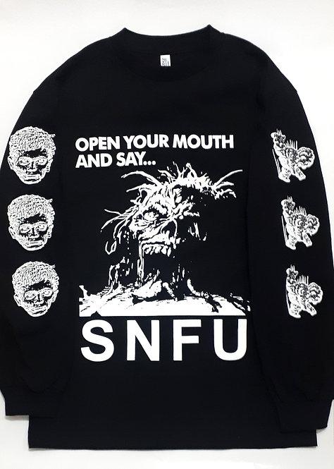 S.N.F.U - Open Up Longsleeve