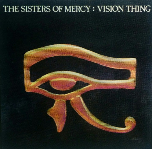 The Sisters of Mercy - Vision Thing Sticker