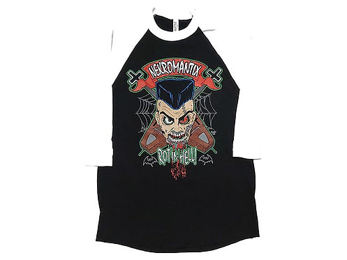 Nekromantix - Rot in Hell Baseball Tee