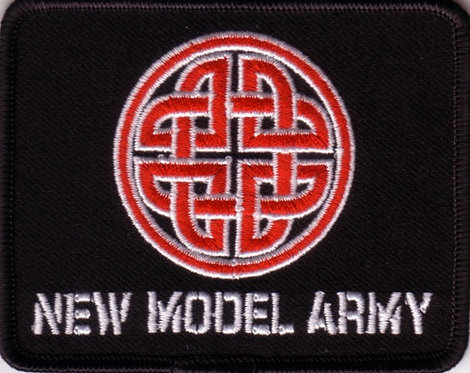 New Model Army - Celtic Knot Embroidered Patch