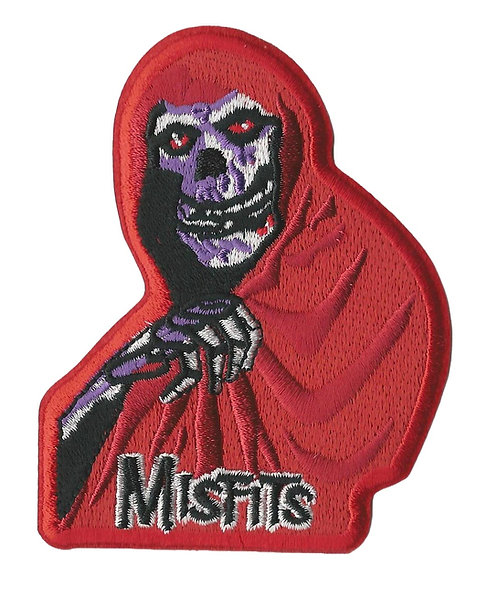 Misfits - Red Fiend Embroidered Patch