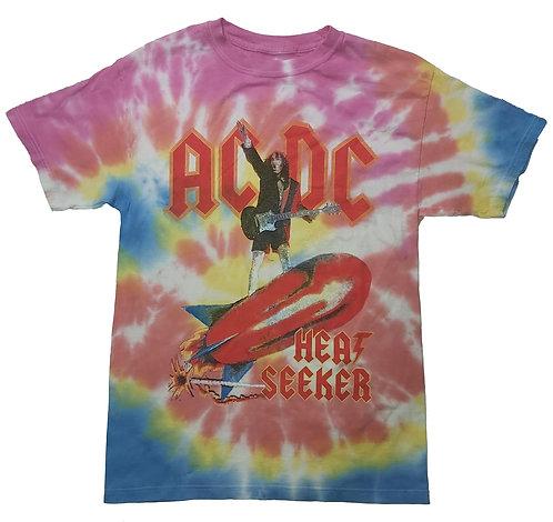 AC/DC - Heat Seeker Tie Dye Shirt