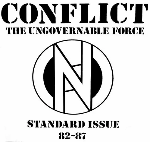Conflict - The Ungovernable Force Standard Issue LP