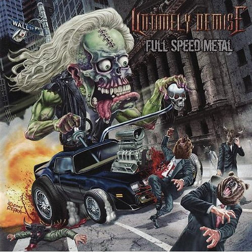 Untimely Demise - Full Speed Metal CD