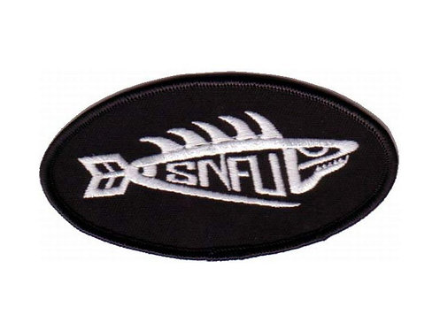 S.N.F.U - Fish Embroidered Patch