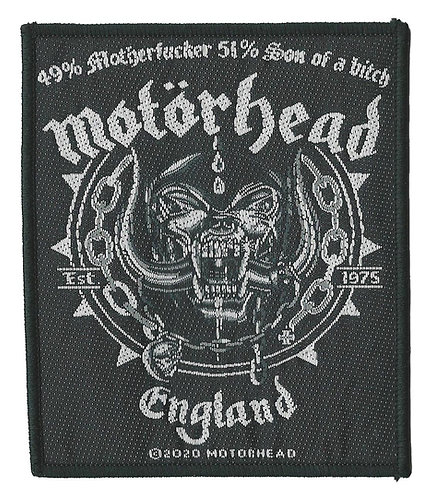 Motorhead - Ball & Chain Woven Patch