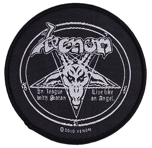 Venom - In League with Satan Woven Patch
