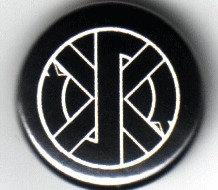 Crass - Logo Pin