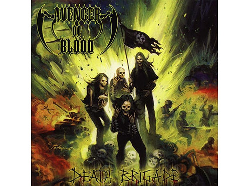 Avenger of Blood - Death Brigade CD