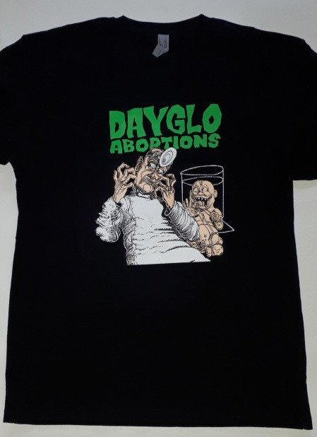 Dayglo Abortions - Baby Doc T-Shirt