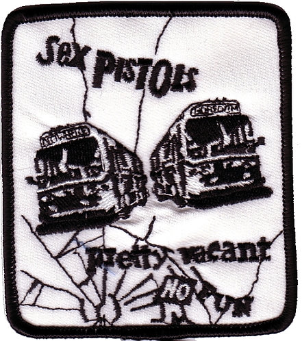 Sex Pistols - Buses Embroidered Patch