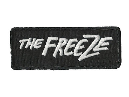 The Freeze - White Logo Embroidered Patch