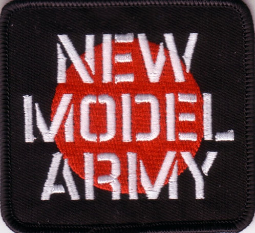 New Model Army - Dot Black Embroidered Patch