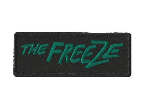 The Freeze - Handwriting Logo Embroidered Patch