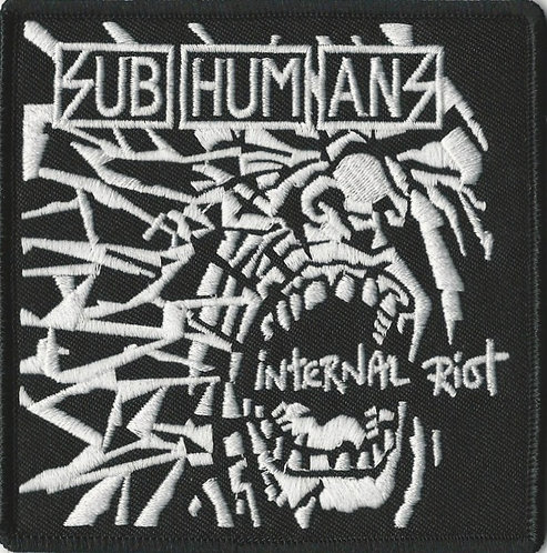 Subhumans - Internal Riot Embroidered Patch
