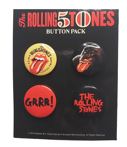 The Rolling Stones - Pin Pack