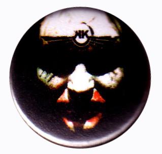 Komor Kommando - Face Pin