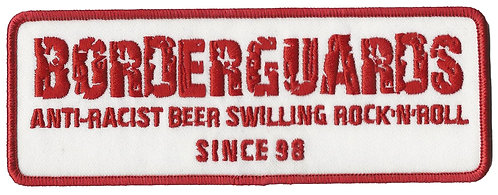 Borderguards - Anti-Racist Embroidered Patch